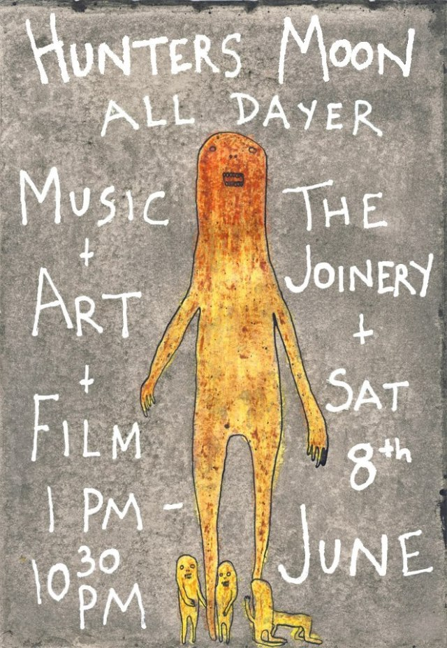 Hunters Moon All Dayer in the Joinery