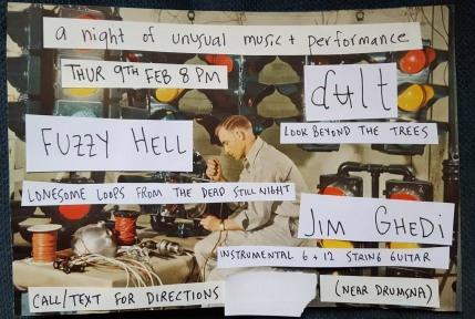 Hunters Moon Presents a night of unusual music and performance