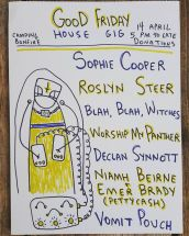 Good Friday House Gig Experimental Music Athlone Ireland